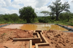Kasarani-primary-school-farm-pond-full-of-rain-water